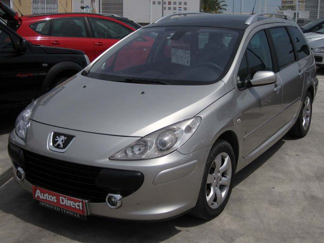 used peugeot 307 sw for sale san miguel costa blanca. Black Bedroom Furniture Sets. Home Design Ideas