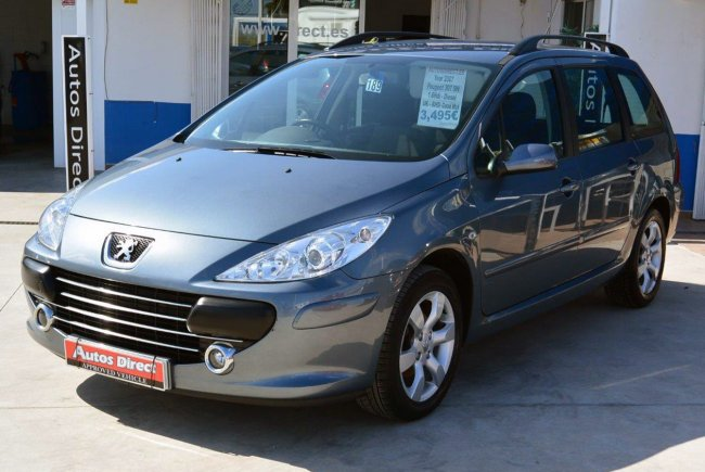used peugeot 307 sw estate uk rhd for sale san miguel. Black Bedroom Furniture Sets. Home Design Ideas