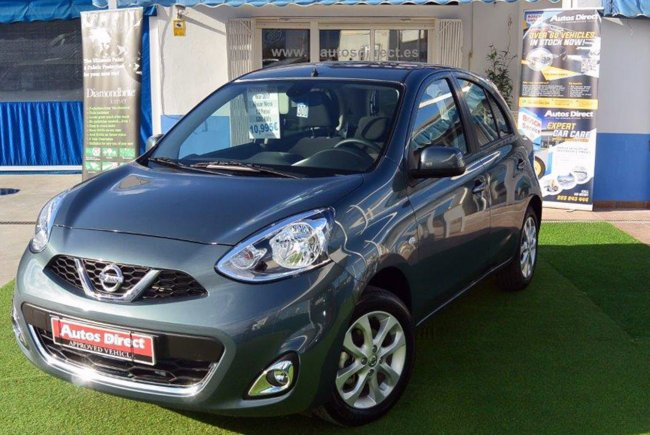 used nissan micra 1.2 petrol (new shape) for sale - san miguel