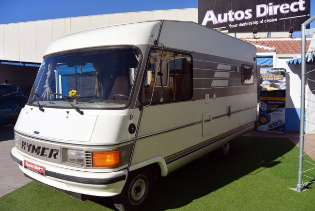 used hymer b544 classic 4 berth motorhome for sale san miguel costa blanca