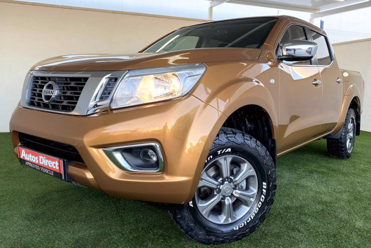 Used Nissan Navarra Double cab 2.3DCi (160cv) NP300 4x4 Spain