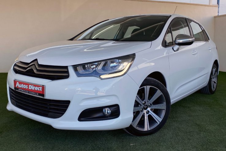 Used Citroen C4 Automatic Feel 120cv Spain