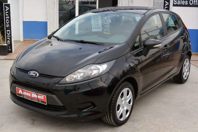 Used Ford Fiesta 1.4 TDCi 5 door Spain