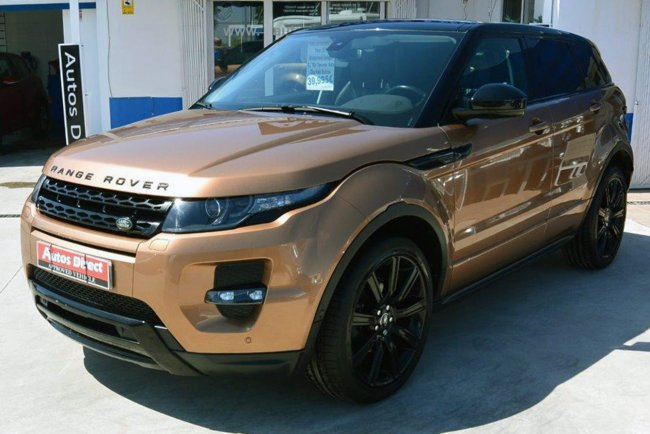 Used Range Rover Evoque 2.2 TD4 Dynamic Auto Spain